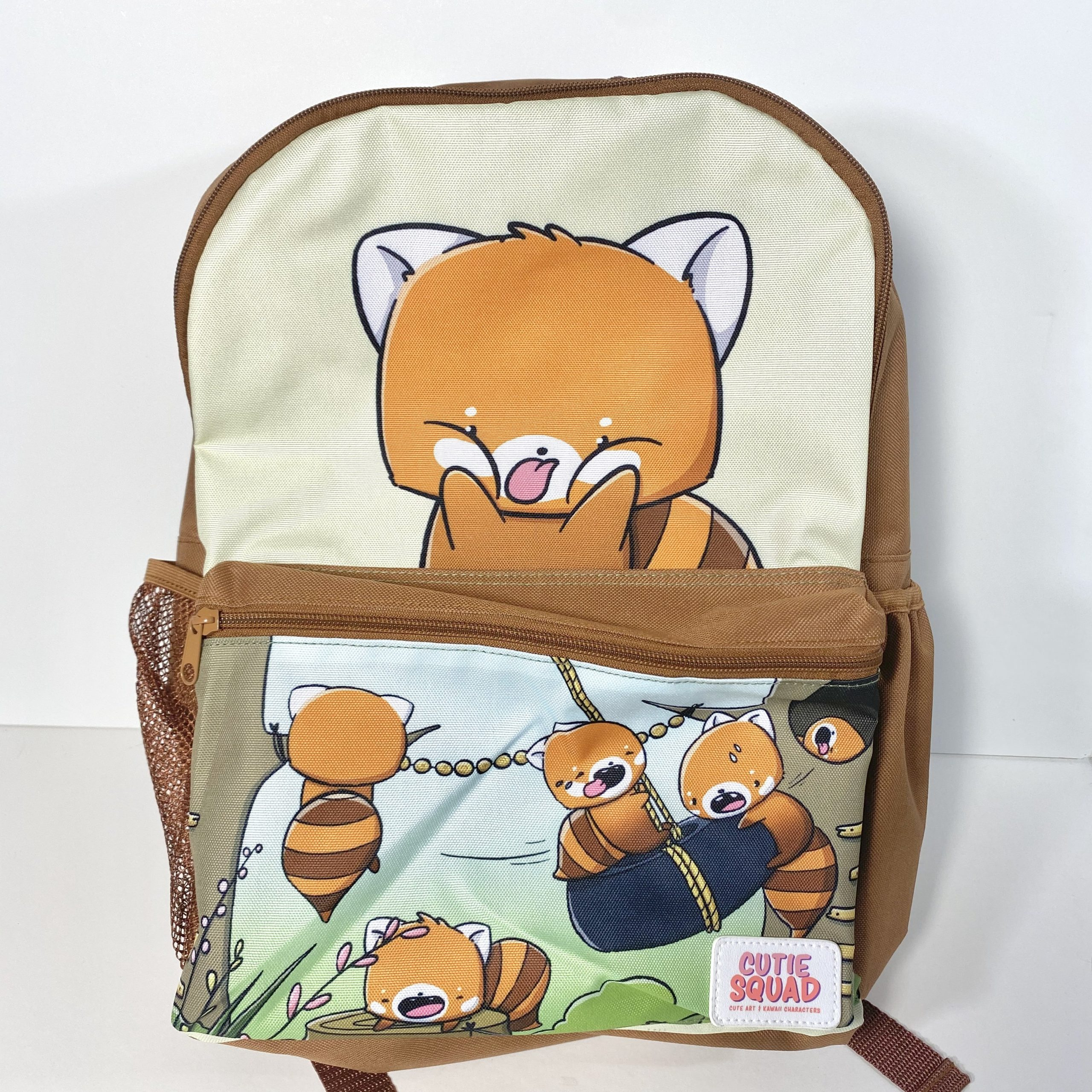 Red Pandas eating Noodles | Print - Gladys P. Nut