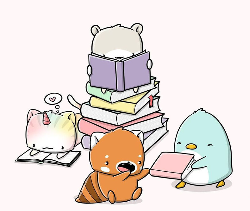 Book Lovers Day | CutieSquad style